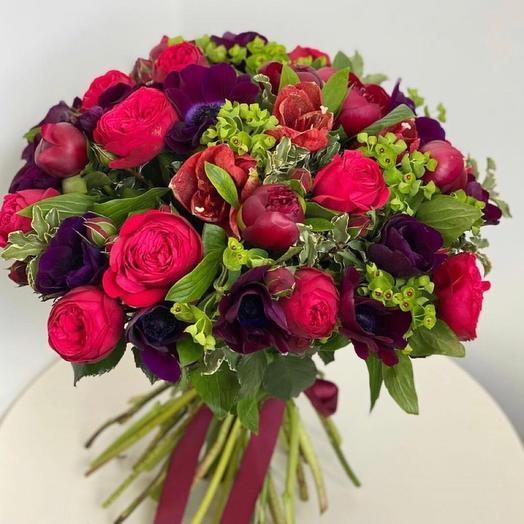 """Букет цветов """"Пряности"""""""