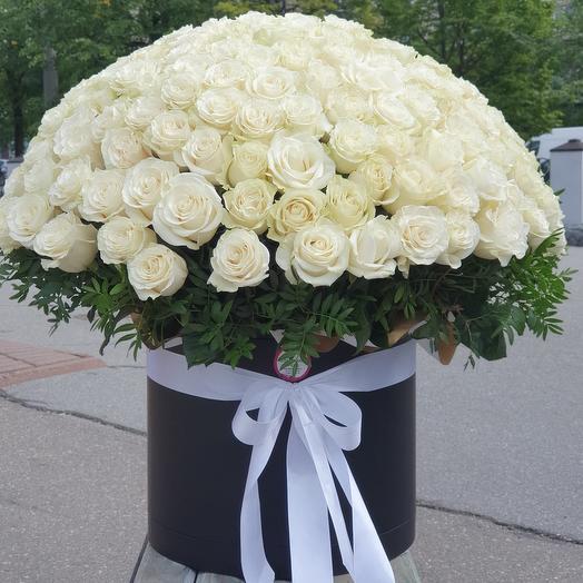 Эксклюзивная коробка 201 роза
