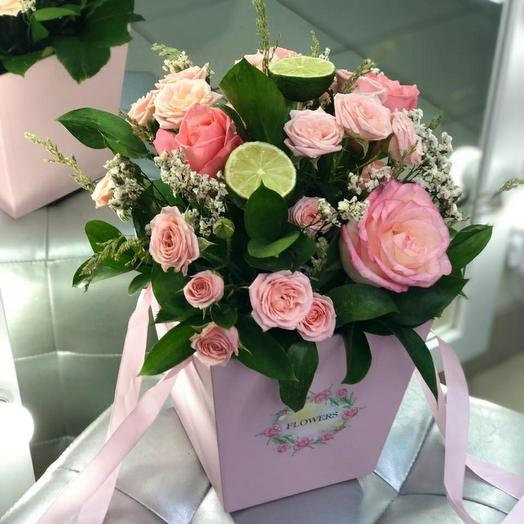 Розы с лаймом