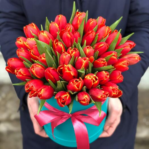 Коробочка Тюльпаны Голландские