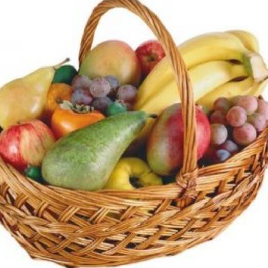 Корзина с фруктами в подарок