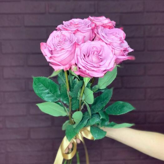 Пять роз в стиле Блюз