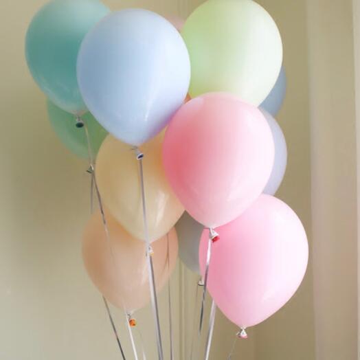 11 воздушных шаров