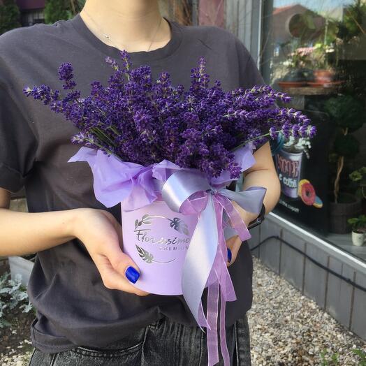 Цветы в коробке (Лавандин)