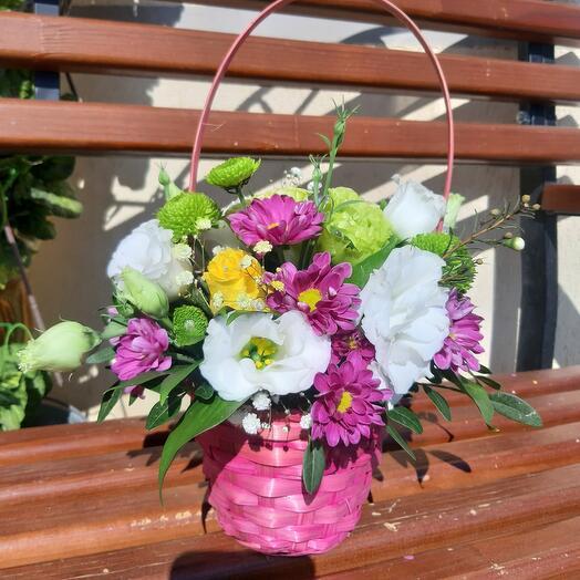 Цветочна корзинка