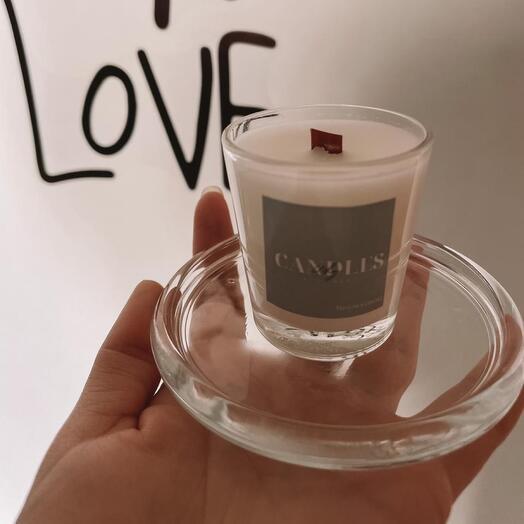Свеча с ароматом «Пачули и Сандала»