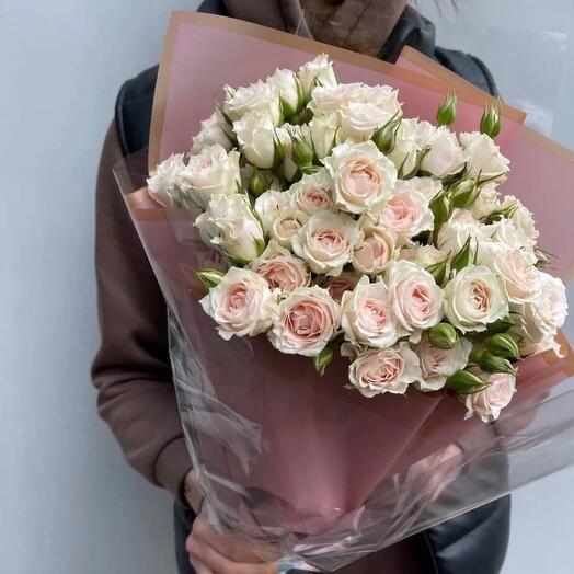 Кустовые розы Микадо
