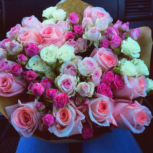 Микс 42: букеты цветов на заказ Flowwow