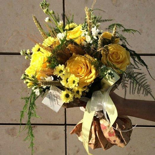 Солнечный зайчик: букеты цветов на заказ Flowwow