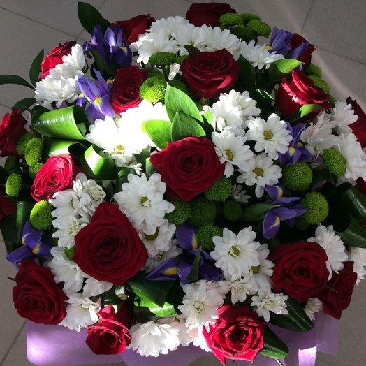 Торжественный микс: букеты цветов на заказ Flowwow