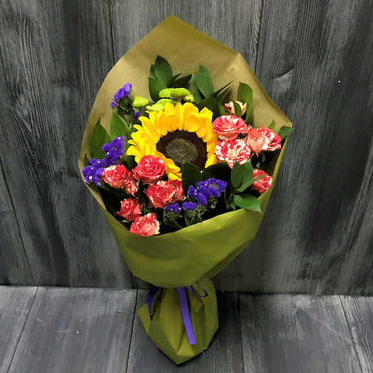 Здравствуй осень (Букет 313): букеты цветов на заказ Flowwow
