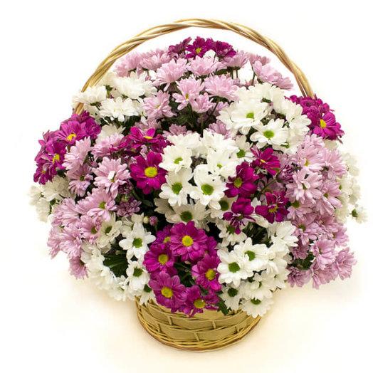 Корзинка цветочков: букеты цветов на заказ Flowwow