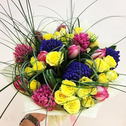 Весеннее настроение : букеты цветов на заказ Flowwow