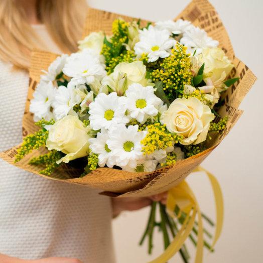Букет Микс нежности: букеты цветов на заказ Flowwow