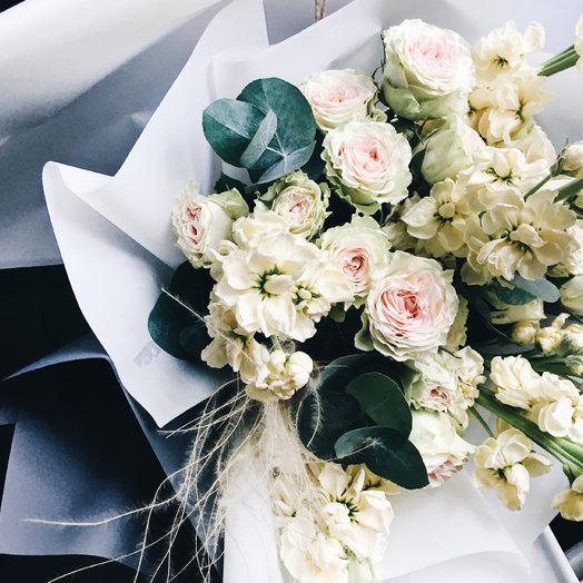 Легкий букет : букеты цветов на заказ Flowwow