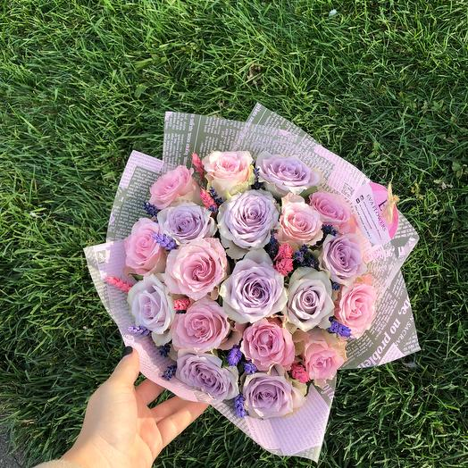 Букет оттенка Шанель: букеты цветов на заказ Flowwow