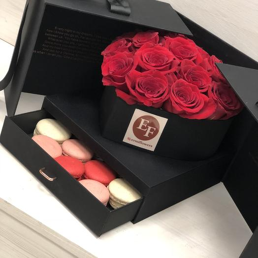 Волшебная коробочка: букеты цветов на заказ Flowwow
