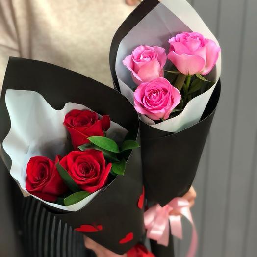 Комплимент на две персоны 1: букеты цветов на заказ Flowwow