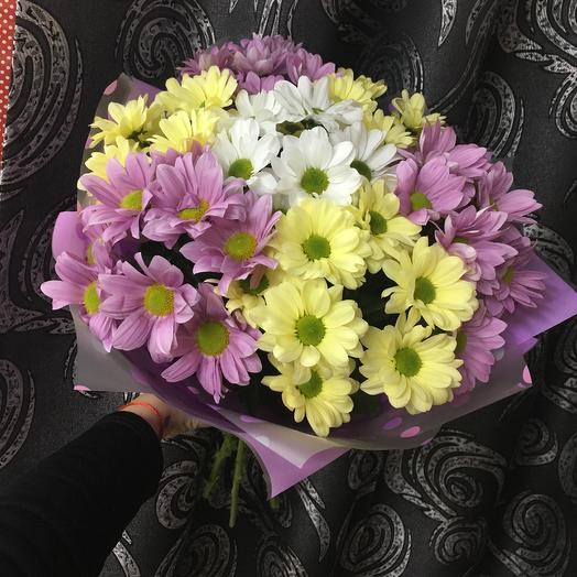 Ароматная хризантема: букеты цветов на заказ Flowwow