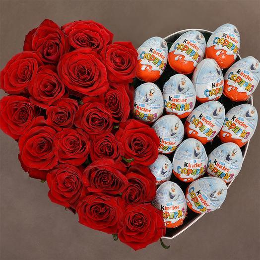 Бомбический сюрприз: букеты цветов на заказ Flowwow