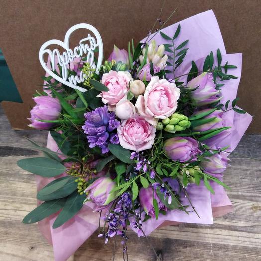 Ожидание Весны: букеты цветов на заказ Flowwow