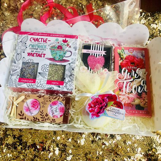 «Набор удовольствий»: букеты цветов на заказ Flowwow