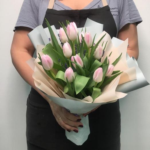 «Лавандовые грезы»: букеты цветов на заказ Flowwow