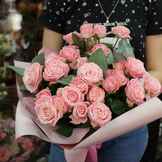 """Букет пионовидных роз """"Зефирный сон"""""""
