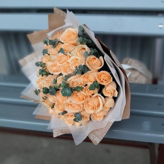 Пышный бал Z15: букеты цветов на заказ Flowwow