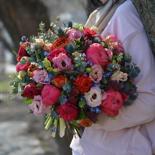Искусство росписи: букеты цветов на заказ Flowwow