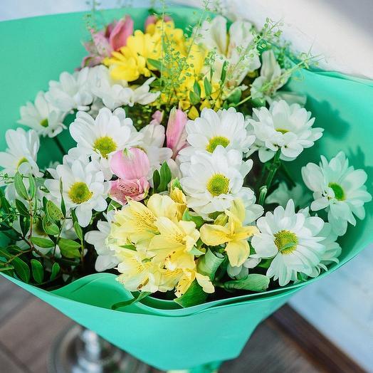 Луговые ромашки: букеты цветов на заказ Flowwow