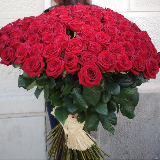 101 red rose: flowers to order Flowwow
