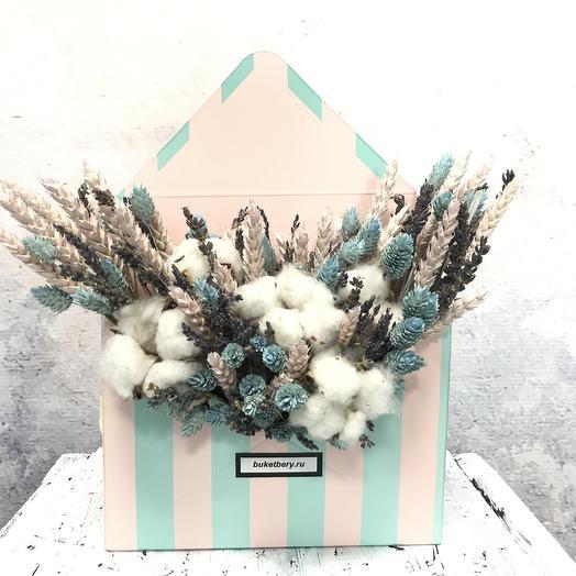 Письмо пушистого счастья: букеты цветов на заказ Flowwow
