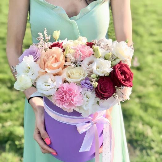 Композиция «Счастье»: букеты цветов на заказ Flowwow