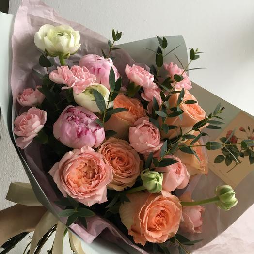 Peach: букеты цветов на заказ Flowwow