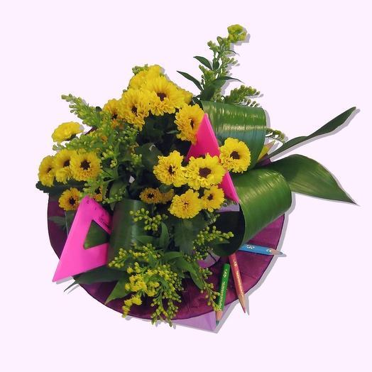 Букет на 1 Сентября 1: букеты цветов на заказ Flowwow