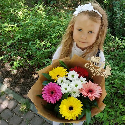 "Букет ""Светофор"": букеты цветов на заказ Flowwow"