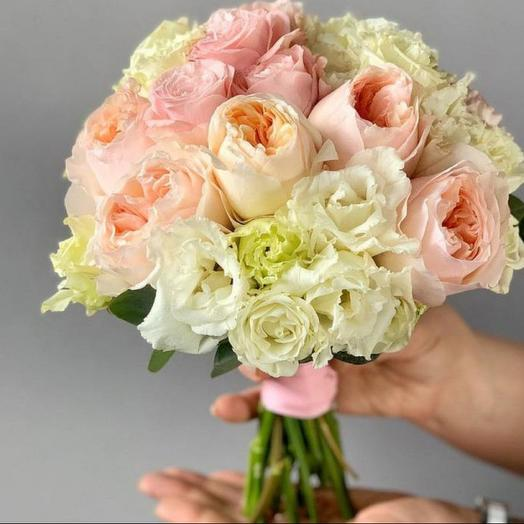"""Букет невесты """"Розовый Фламинго"""": букеты цветов на заказ Flowwow"""