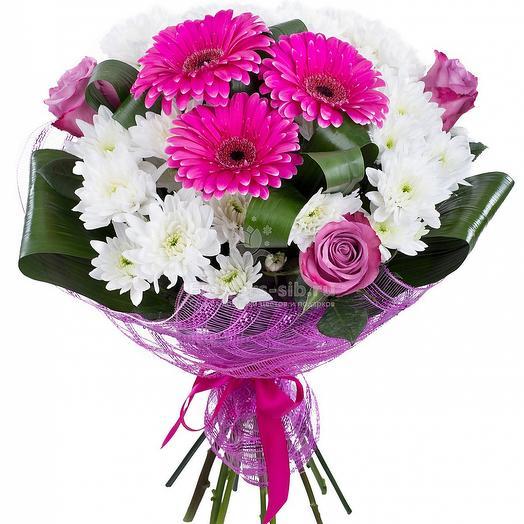 Букет 066: букеты цветов на заказ Flowwow