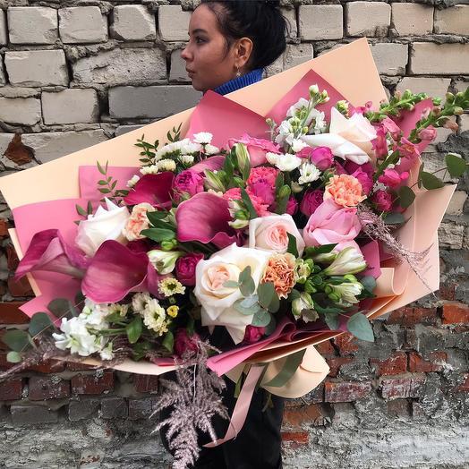 """Сборный букет """"Мысли о тебе"""": букеты цветов на заказ Flowwow"""