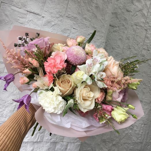 Сливочный десерт: букеты цветов на заказ Flowwow