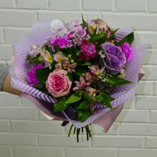 "Букет ""Бриз"": букеты цветов на заказ Flowwow"