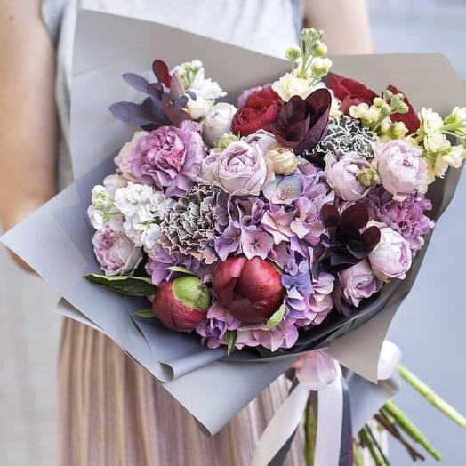 """Букет цветов для мамы """"Стефания"""""""