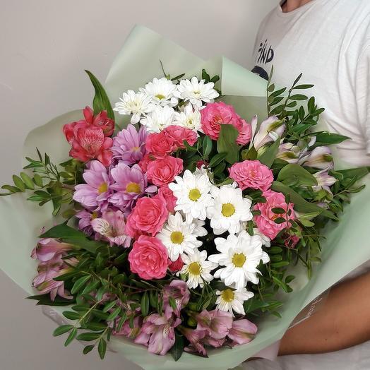 Весенняя поляна: букеты цветов на заказ Flowwow