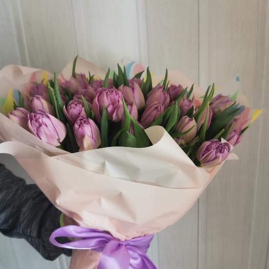 Фиолетовые чувства: букеты цветов на заказ Flowwow