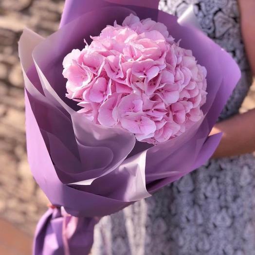 Гортензия 💕: букеты цветов на заказ Flowwow