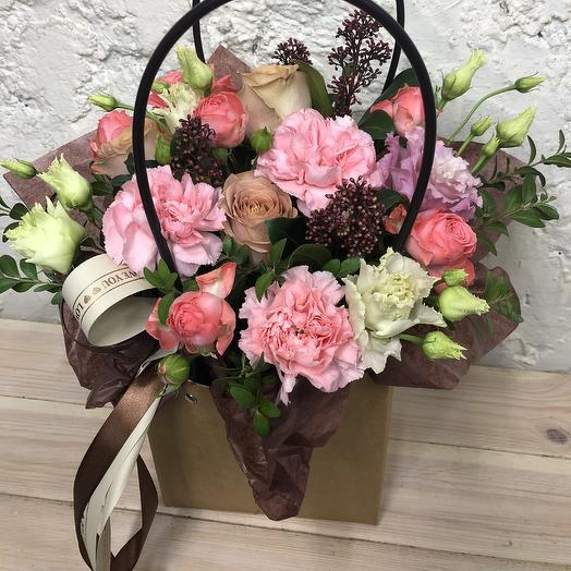 Капучинно: букеты цветов на заказ Flowwow