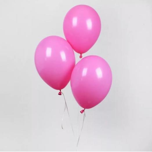 Rosalina - сет из трёх розовых шаров