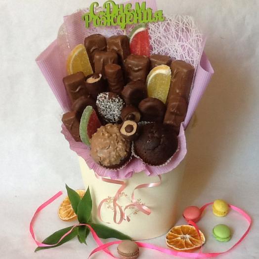 Шоколадное настроение: букеты цветов на заказ Flowwow