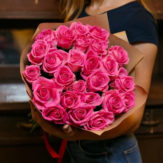 Букет роз Хот Эксплоер